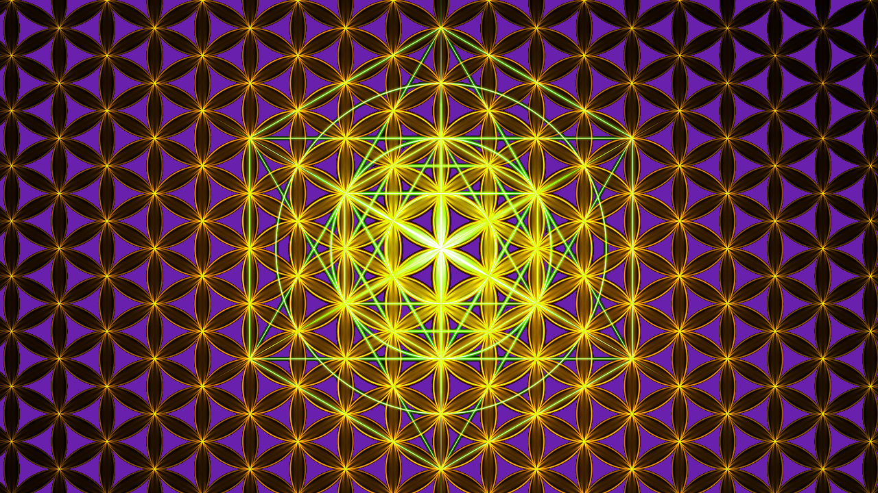 FOL and Metatrons Cube Art